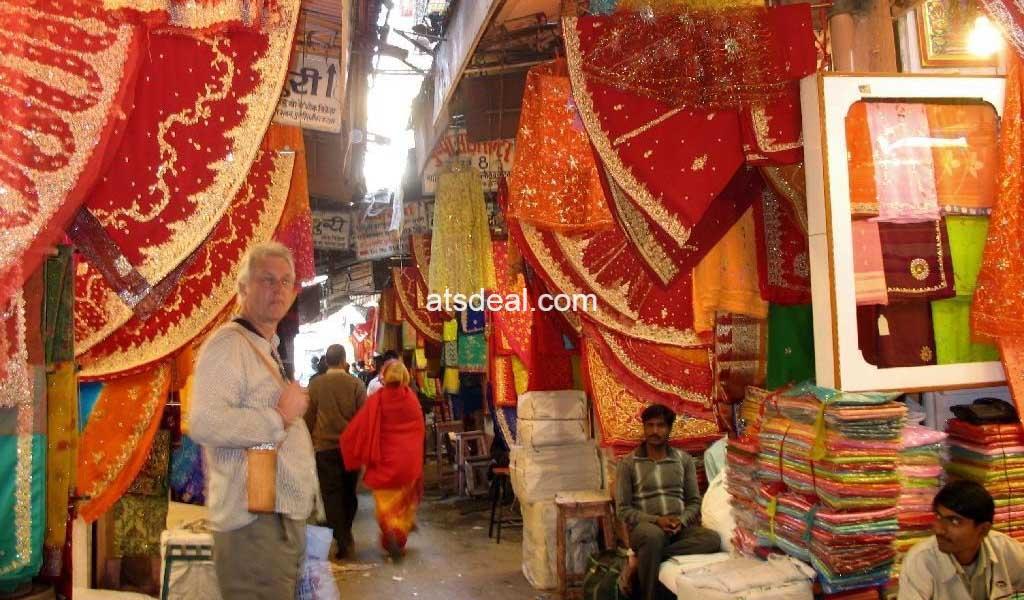 Nehru Bazaar Jaipur with wholesale cloth market in jaipur