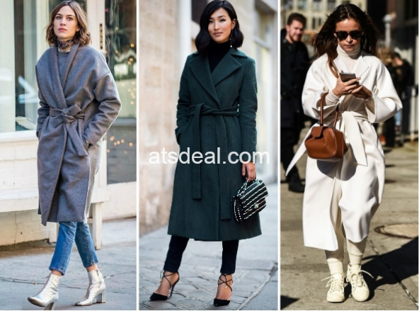 Wrap and Belted Coat