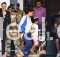 Akshay Kumar papped at the airport with wife Twinkle Khanna and kids Aarav and Nitara