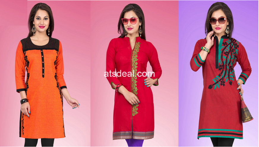 Authentic Fashion Collections of Designer Kurtis Online