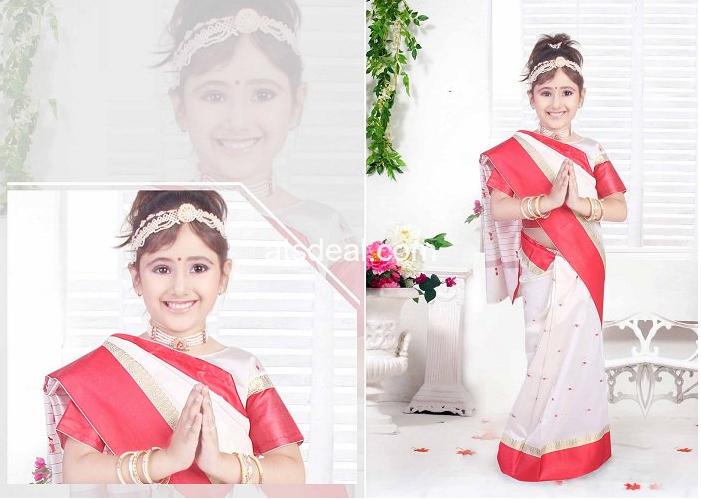 Beautiful Sarees for Kids