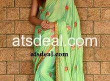 Designer saree collections-zari-free world
