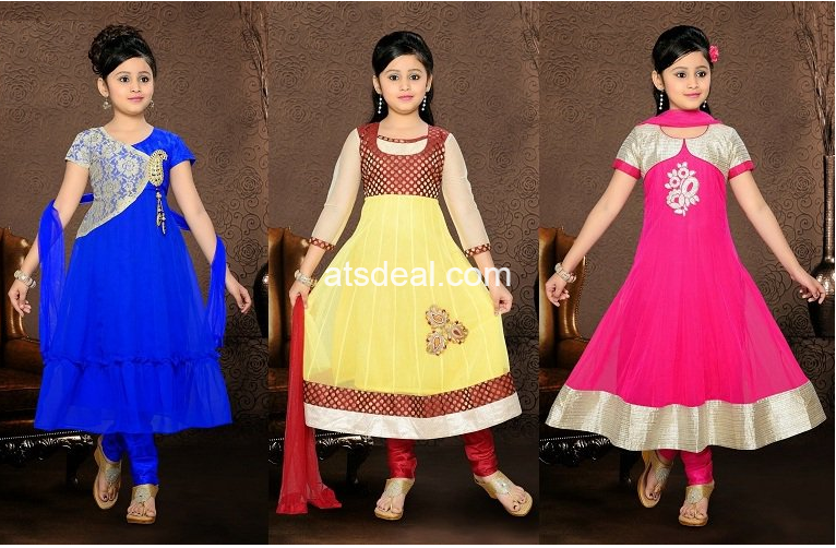 Kids Wear Anarkali Suit for Special Occasions