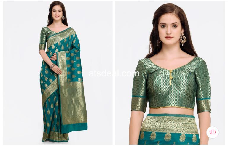 Silk Woven Design Banarasi Saree